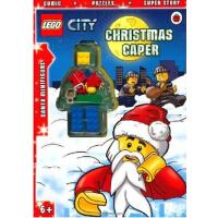英文原版LEGO CITY: Christmas Caper Activity Book with Minifigur