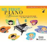 【现货】英文原版 菲伯尔我的钢琴启蒙课:A级课本+CD(读谱准备) My First Piano Ad venture