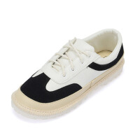帆布鞋女学生校园百搭港味复古zipper小白鞋潮