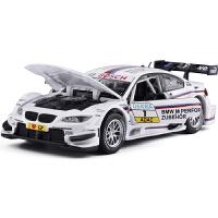 模型 M3 dtm概念赛车儿童声光玩具模型1:32合金回力汽车
