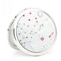 梳妆小镜子女化妆镜随身便携小圆镜折叠创意礼品镜惊喜的礼物节日礼品