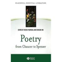 【预订】Poetry From Chaucer To Spenser: An Anthology Of