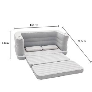 门扉 充气沙发床 双人充气沙发床单人沙发双人气垫床懒人沙发躺椅午休充气床
