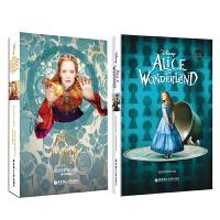 迪士尼英文原版.爱丽丝梦游仙境(套装共2册) Alice in Wonderland and Alice Through the Looking Glass 爱丽丝梦游仙境+镜中奇遇记