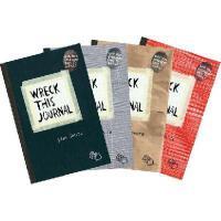 【预订】Wreck This Journal Bundle Set
