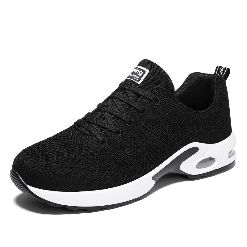 西瑞新款网跑鞋网面休闲运动飞织鞋透气百搭男鞋MLD-WK-A22N