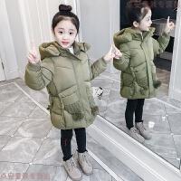 女童棉衣2019新款韩版女孩冬装儿童加厚宝宝棉袄洋气外套