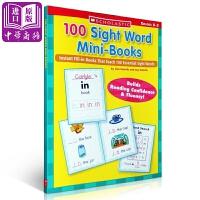 【中商原版】学乐100个关键词迷你书 100 Sight Word Mini-Books 100个基础词