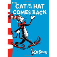 英文原版 The Cat in the Hat Comes Back苏斯博士:戴高帽子的猫又来了