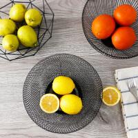 创意摆件家居客厅茶几果盘收纳零食篮