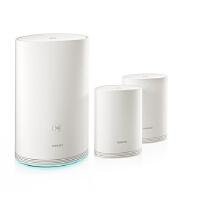 华为(HUAWEI) 子母路由器Q2 全千兆 高速WiFi覆盖 母路由1拖2 无线路由器穿墙强