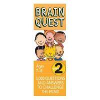 【现货】英文原版 Brain Quest Grade 2, Ages 7-8, Revised 4th儿童智力开发系列卡