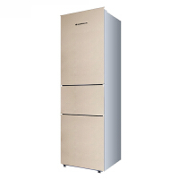 上菱BCD-211THC 家用三门冰箱 金色