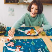 餐垫隔热垫儿童学生布艺杯垫西餐垫