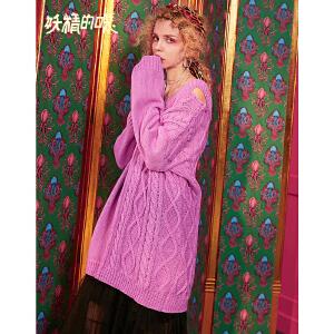 【尾品汇大促】妖精的口袋 一寸酥 冬季毛织连衣裙