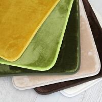 慢回弹地垫门垫卧室可水洗脚垫厨房卫生间防滑垫