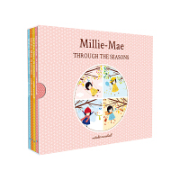 【全店300减100】进口英文原版 米丽梅的春夏秋冬英文四季绘本(Millie-Mae Through the Seas