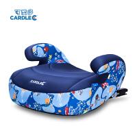 汽车用儿童座椅车载便携式坐垫isofix硬接口增高垫3-12岁宝宝