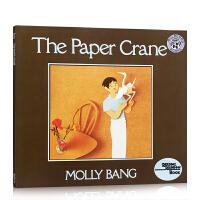 英文原版 美国彩虹阅读好书榜 Paper Crane, The 纸鹤 民间故事 亲子阅读睡前故事绘本读物 Harper