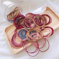 韩国头绳宝宝橡皮筋儿童小号扎头发小女孩扎辫子发圈皮套发绳发饰