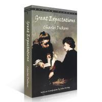 伟大前程英文原版小说远大前程世界经典名著小说 Great Expectations 狄更斯经典名著 双城记 雾都孤儿作