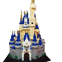 瓦西里大教堂建筑模型积木城堡钻石小颗粒拼装立体拼图玩具儿童节礼物