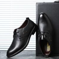 DAZED CONFUSED男士商务休闲皮鞋透气舒适时尚皮鞋英伦圆头青年正装皮鞋