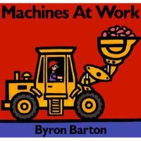 【预订】Machines at Work Board Book