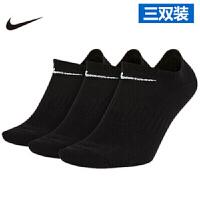 NIKE耐克 运动袜 袜子短款袜  男女 运动袜休闲袜子 时尚筒袜 三双装