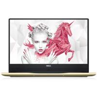 戴尔(Dell)Inspiron 燃7000-1745S 15.6英寸微边框笔记本电脑 i7-7500 8G 1T+128G 4G 金色官方标配Windows10