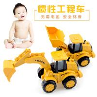 宝宝玩具车男孩推土机惯性工程车儿童挖掘机小汽车小孩挖土机模型