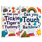 Little Know-it-All百科系列2册 英文原版绘本 Can You Touch a Rainbow?/Ti