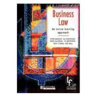 【预订】Business Law - An Active Learning Approach
