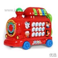 【新品】儿童玩具电话机婴幼儿早教小火车宝宝音乐手机小孩0-1-3岁