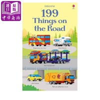 【中商原版】Usborne 199种汽车 199 things on the road 英国Usborne