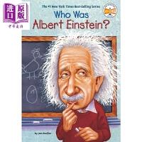 【中商原版】谁是阿尔伯特爱因斯坦 Who Was Albert Einstein 儿童科普文学 章节书 桥梁书 英文原版