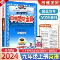 中学教材全解九年级上册英语外研版2021新版初三教材全解同步解读