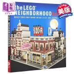 【中商原版】乐高邻里书:建立自己的小镇!英文原版 The LEGO neighborhood book : build