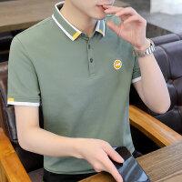 POLO短袖 2021夏季新款男款韩版潮流衬衫领POLO衫短袖 Y711男装82326