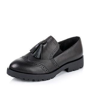 Teenmix/天美意专柜同款牛皮革女皮鞋6WW28CM6