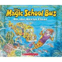 英文原版儿童书The Magic School Bus on the Ocean Floor [With Paperba