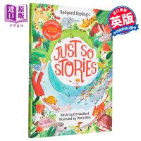 【中商原版】Marta Altes:这一些小故事 Rudyard Kipling's Just So Stories 精