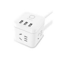 包邮公牛插座迷你USB智能魔方插座插排插线板苹果安卓USB插座1.5米