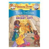 英文原版儿童书 Thea Stilton and the Secret City 老鼠记者特别版:神秘城