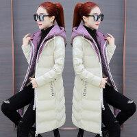 羽绒外套女装冬装衣服时尚冬季中长款棉衣小个子棉袄