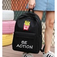 书包女中学生韩版校园原宿ulzzang潮背包双肩包防泼水大容量背包