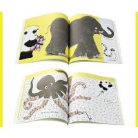 【全店300减100】英文原版 panda熊猫先生学习懂礼貌好习惯耐心等待Thomas Wipe Clean Write