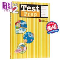 【中商原版】Flash Kids预测卷 2年级 英文原版 Test Prep Grade 2 练习册