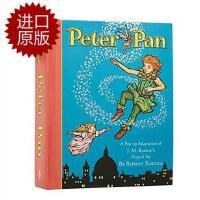 英文原版 小飞侠彼得潘立体书 Peter Pan: A Classic Collectible Pop-Up