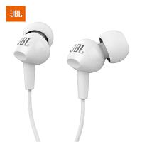 【当当自营】JBL C100SI 白色 超轻盈入耳式耳机 耳麦 苹果 安卓通用耳机 游戏耳机